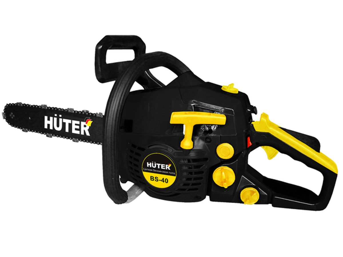 Huter Бензопила Huter BS-40 Black-Yellow 5340р