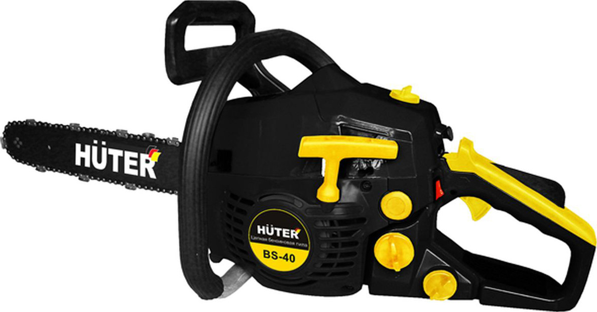 Huter Бензопила Huter BS-40 Black-Yellow 5920р